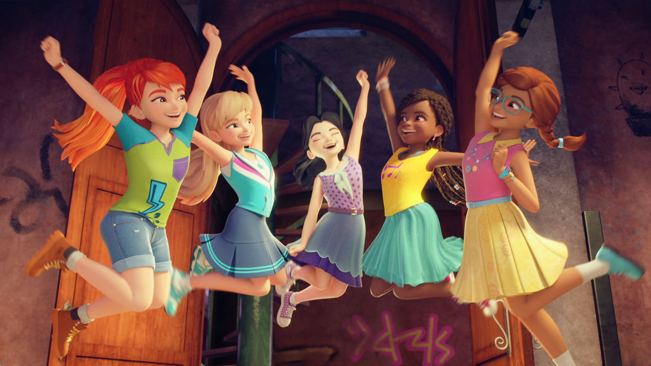 Lego Friends Girls On A Mission Netflix