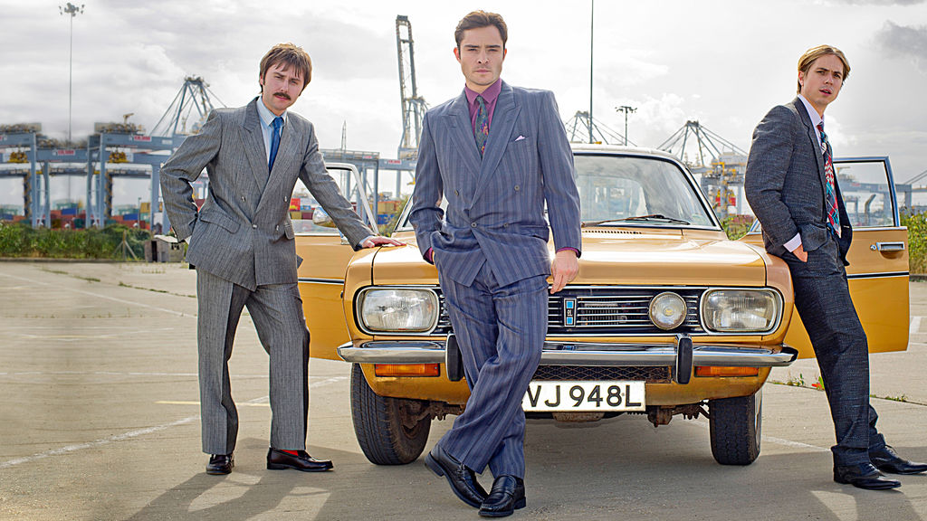 White Gold Netflix Official Site - 3 british guys car show