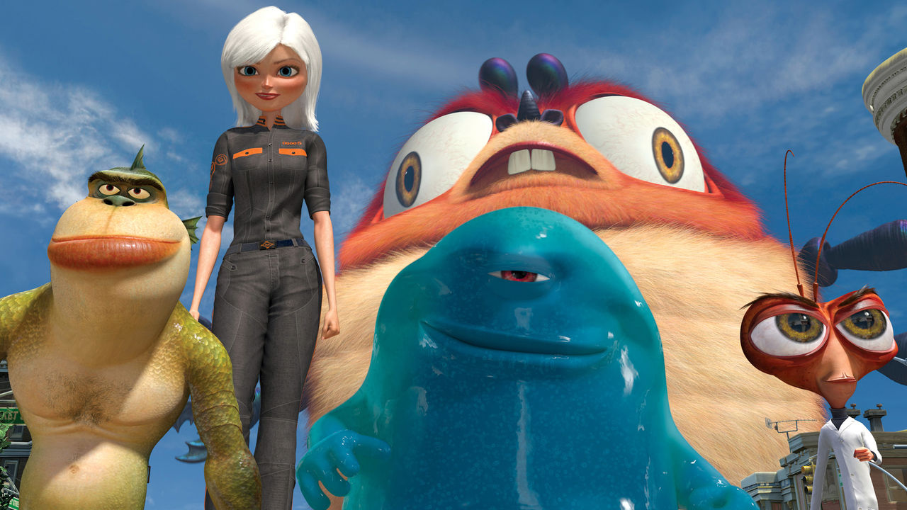 Image result for monsters vs aliens