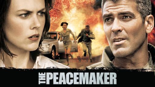 ผลการค้นหารูปภาพสำหรับ peacemaker film george clooney POSTER